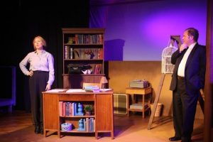 "Carrie Jay Sayer (left) and Joel Mitchell (right) in ""Dear Elizabeth"